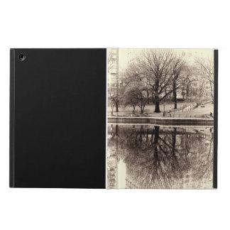 Black & White Landscape Winter Tree - Central Park iPad Air Case