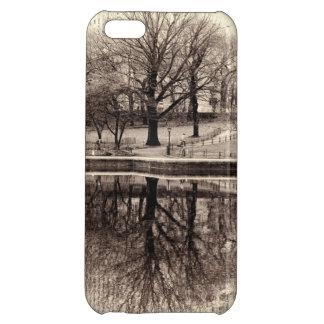 Black & White Landscape Winter Tree - Central Park iPhone 5C Covers