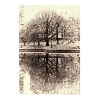 Black & White Landscape Winter Tree - Central Park Photograph