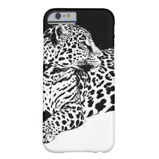Black & White Leopard iPhone 6 Case