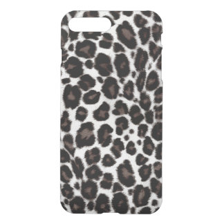 Black White Leopard Pattern Classic Stylish iPhone 7 Plus Case