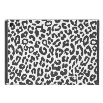 Black & White Leopard Print Animal Skin Patterns Case For iPad Mini