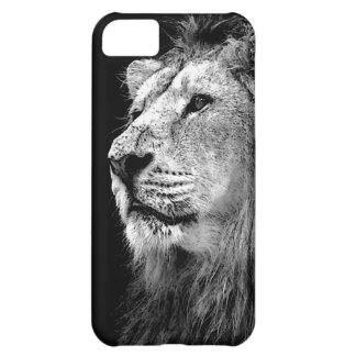 Black & White Lion iPhone 5C Cover