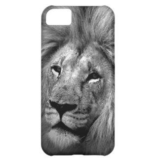 Black & White Lion Case For iPhone 5C