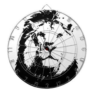 Black & White Lion Dartboard