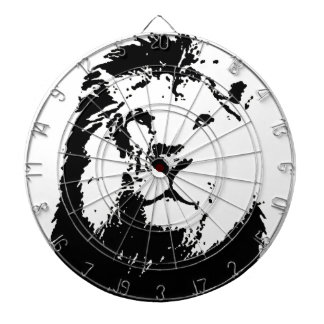 Black & White Lion Dart Boards