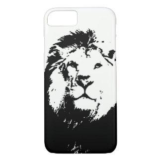 Black & White Lion iPhone 7 Case