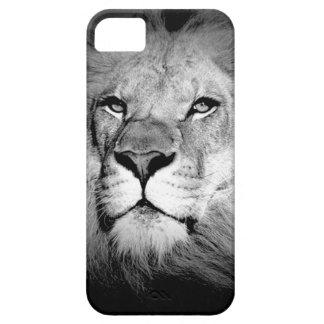 Black & White Lion iPhone SE/5/5s Case