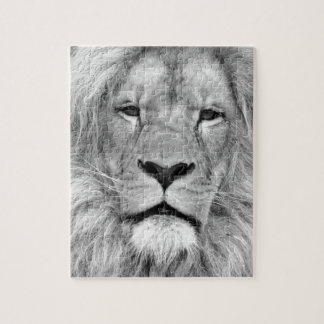 Black & White Lion Jigsaw Puzzle