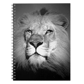 Black & White Lion Notebooks