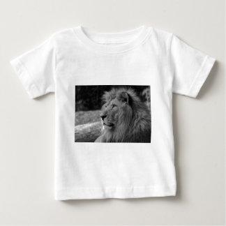 Black & White Lion - Wild Animal Baby T-Shirt