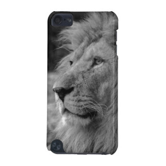 Black & White Lion - Wild Animal iPod Touch (5th Generation) Case