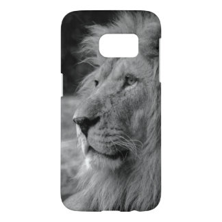 Black & White Lion - Wild Animal Samsung Galaxy S7 Case