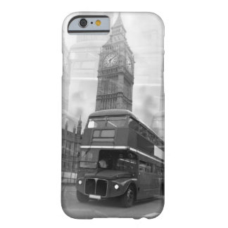 Black White London Bus Big Ben iPhone 6 Case