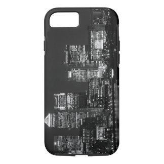 Black White London City Night UK Travel iPhone 7 Case