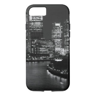 Black White London City Night UK Travel iPhone 8/7 Case