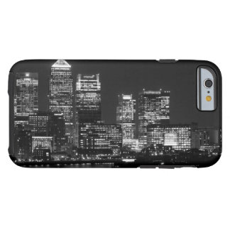 Black White London City Night UK Travel Tough iPhone 6 Case