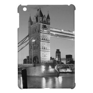 Black White London Tower Bridge Case For The iPad Mini