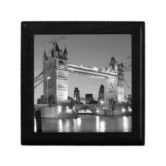 Black White London Tower Bridge Gift Box