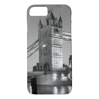 Black White London Tower Bridge iPhone 7 Case