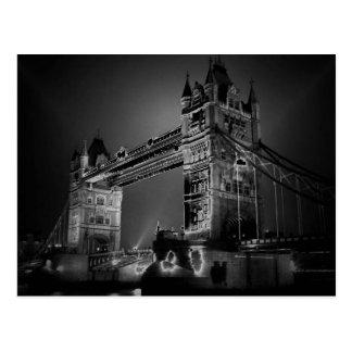 Black & White London Tower Bridge Post Cards