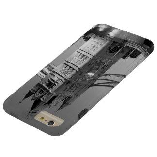 Black White London Tower Bridge Tough iPhone 6 Plus Case