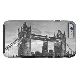 Black White London Tower Bridge UK Travel Tough iPhone 6 Case