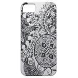 Black & White Mandala Celtic Knot Tangle Paisley iPhone SE/5/5s Case