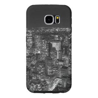 Black & White Manhattan Samsung Galaxy S6 Case