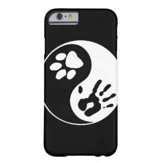 Black & White Man's Best Friend Yin Yang Symbol Barely There iPhone 6 Case