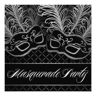 masquerade ball party invitations  announcements  zazzle, Party invitations