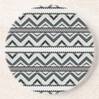 Black & White Mix - Round Coasters