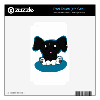Black/White Mix Skins For iPod Touch 4G