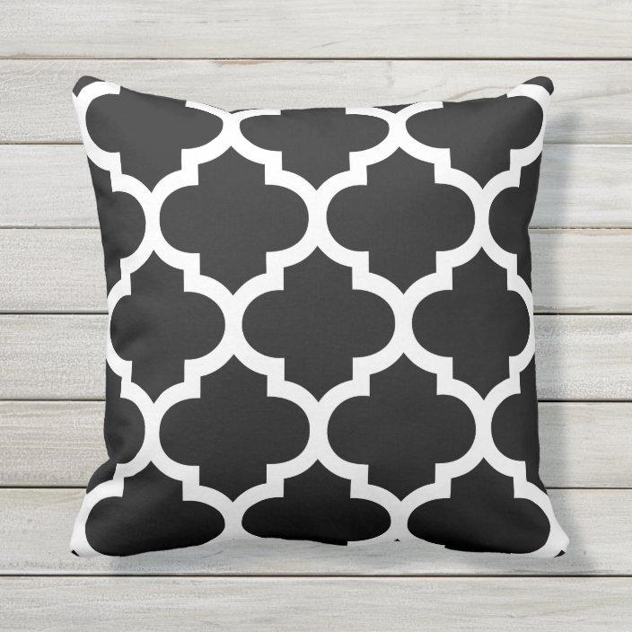 Moroccan Quatrefoil Outdoor Pillows