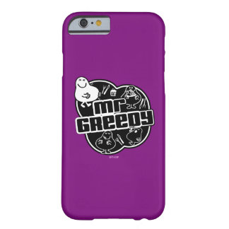Black & White Mr. Greedy Barely There iPhone 6 Case