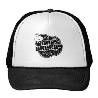 Black & White Mr. Greedy Trucker Hat