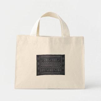 Black & White Mudcloth Tote Bag