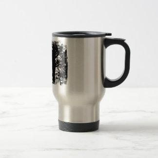 Black & White Nevermore Silhouette Raven Mug