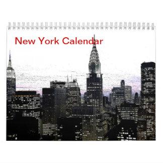 Black & White New York City 2017 Calendar