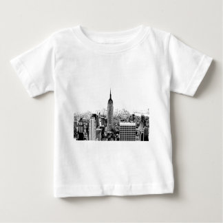 Black & White New York City Baby T-Shirt