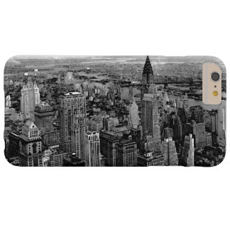 Black & White New York City Barely There iPhone 6 Plus Case