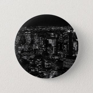 Black & White New York City Button