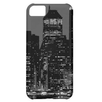 Black & White New York City iPhone 5C Cover