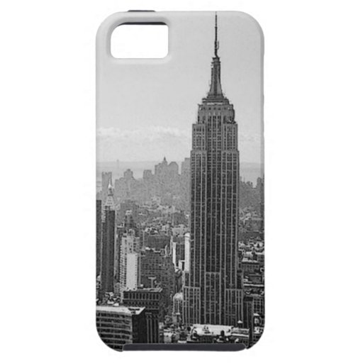 Black & White New York City iPhone 5 Cover