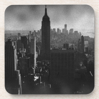 Black & White New York City Coaster