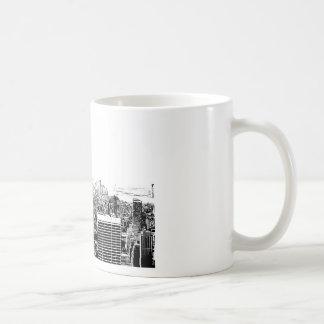 Black & White New York City Coffee Mug