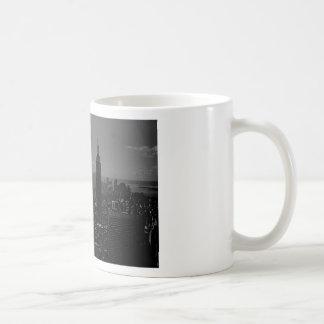Black White New York City Coffee Mug