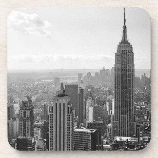 Black & White New York City Drink Coaster