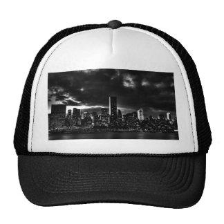 Black & White New York City Mesh Hat