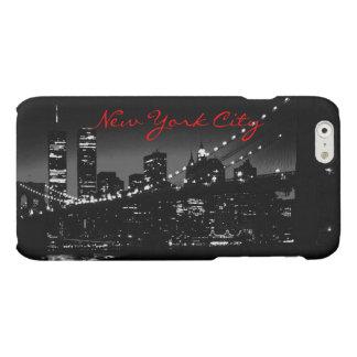Black & White New York City iPhone 6 Case Matte iPhone 6 Case
